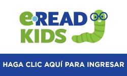 Haga clic en esta imagen para entrar a eRead Kids. Es obligatorio tener el número de la tarjeta de biblioteca y una clave PIN.
