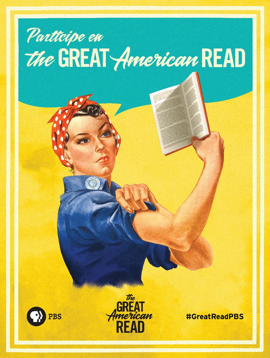 Haga su publicación sobre The Great American Read