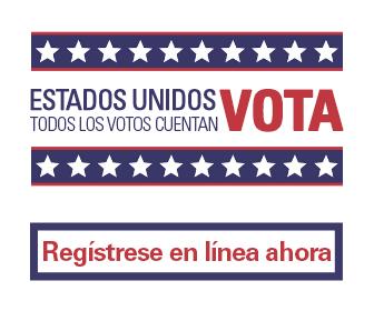 Llame para registrarse como votante.